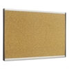 Quartet ARC Frame Cork Cubicle Board, 14 x 24, Tan, Aluminum Frame