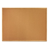 Quartet Classic Cork Bulletin Board, 24 x 18, Oak Finish Frame