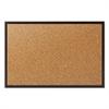 Classic Cork Bulletin Board, 24x18, Black Aluminum Frame
