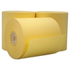 "Single Ply Cash Register/POS Rolls, 3"" x 165 ft., Canary, 50/Carton"