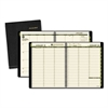 Recycled Weekly/Monthly Classic Appointment Book, 8 1/4 x 10 7/8, Black, 2017