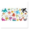 TREND Bulletin Board Set, Sea Buddies, 18 1/4 x 31, 47 Pieces/Kit