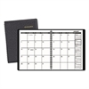 AT-A-GLANCE Monthly Planner, 6 7/8 x 8 3/4, Black, 2017