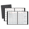 AT-A-GLANCE Contemporary Weekly/Monthly Planner, Column, 8 1/4 x 10 7/8, Graphite Cover,2017