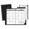 Pocket-Size Monthly Planner, 3 1/2 x 6 1/8, White, 2017-2018