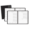 Executive Weekly/Monthly Appointment Book, 6 7/8 x 8 3/4, White, 2017-2018