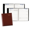 Executive Weekly/Monthly Planner, 6 7/8 x 8 3/4, Burgundy, 2017