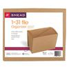 1-31 Indexed Expanding Files, 31 Pockets, Kraft, Letter, Kraft