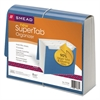 SuperTab Expanding File, 12 Pockets, Letter, Blue