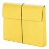 "Smead 2"" Exp Wallet with String, Letter, Yellow, 10/BX"