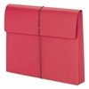 "2"" Exp Wallet with String, Letter, Red, 10/BX"