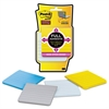 Post-it Full Adhesive Notes, 3 x 3, Ruled, New York Colors, 4/Pack