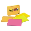 Post-it Super Sticky Meeting Notes in Rio de Janeiro Colors, 8 x 6, 45-Sheet, 4/Pack