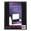 Smead Organized Up Stackit Folder, Textured Stock, 11 x 8 1/2, Black, 10/Pack