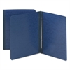 Smead Side Opening Pressboard Report Cover, Prong Fastener, Letter, Dark Blue
