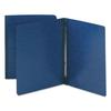 Smead Side Opening PressGuard Report Cover, Prong Fastener, Letter, Dark Blue