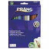 Colored Woodcase Pencils, 3.3 mm, 36 Assorted Colors/Set