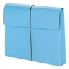 "2"" Exp Wallet with String, Letter, Blue, 10/BX"