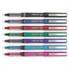 Precise V5 Roller Ball Stick Pen, Precision Point, Assorted Ink, .5mm, 7/Pack