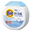 Free & Gentle Laundry Detergent, Pods, 72/Pack, 4/Carton
