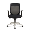 Alera Alera EB-K Series Synchro Mid-Back Mesh Chair, Black/Cool Gray Frame