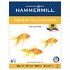 Hammermill Premium Multipurpose Paper, 20-lb., 8-1/2 x 11, White, 2500/Carton