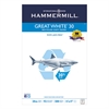 Great White Recycled Copy Paper, 92 Brightness, 20lb, 11 x 17, 500 Sheets/Ream