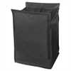 Executive Quick Cart Liner, Small, 12 4/5 x 16 x 14 1/2, Black