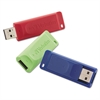 Verbatim Store 'n' Go USB 2.0 Flash Drive, 4GB, Blue/Green/Red, 3/Pack