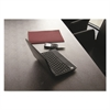 Desktex Polycarbonate Anti-Slip Desk Mat, 59 x 29, Clear