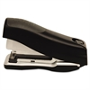 EZ Squeeze Flat Clinch Stapler, 20-Sheet Capacity, Black