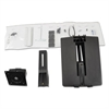 Ergotron WorkFit Conversion Kit: Dual to LCD & Laptop, Black