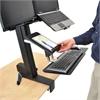 Ergotron WorkFit-S Tablet/Document Holder, 7 1/4 x 1 1/2 x 10 3/4, Black
