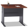 Bush Series A Collection 36W Desk, Hansen Cherry