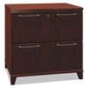 Bush Enterprise Collection 30W Two-Drawer Lateral File, Harvest Cherry