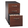 Bush Series C Collection Three-Drawer Mobile Pedestal (Assembled), Hansen Cherry