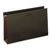 Three Inch Box Bottom Pressboard Hanging Folders, Legal, Standard Green, 25/Box