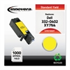 Remanufactured 332-0402 (1660) Toner, Yellow
