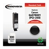 Innovera Remanufactured 6497B001 (PGI-250B) Ink, Black