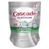 Cascade Platinum ActionPacs, Fresh Scent, 11.9 oz Bag, 20/Bag, 5 Bag/Carton