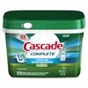 Cascade Complete ActionPacs, Fresh Scent, 1.82 lb Tub, 46/Tub, 6 Tub/Carton