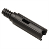 "Rubbermaid Commercial Quick Connect Wand Adapter, Black, Plastic, 1 1/8"" Diameter"