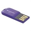 Verbatim Store 'n' Go Micro USB 2.0 Drive, 8GB, Violet