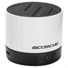 Scosche boomSTREAM mini Compact Wireless Bluetooth Speaker, White
