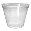 Greenware Cold Drink Cups, Old Fashioned, 9 oz, Clear