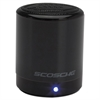 Scosche boomCAN BT mini Compact Wireless Bluetooth Speaker, Black
