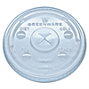 Kal-Clear/Nexclear Drink Cup Lids, F/9-20 oz Cups, Clear, Plastic,1000/Carton