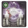 Air Wick Life Scents Scented Oil Refills, Sweet Lavender Days,0.67oz, 2/Pack, 6 Pack/Ctn