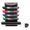 Quartet Prestige 2 Connects Marker Caddy, 4 Chisel-Tip Markers, Assorted