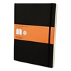 Classic Softcover Notebook, Ruled, 10 x 7 1/2, Black Cover, 192 Sheets